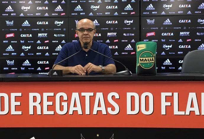 Eduardo Bandeira de Mello, presidente do Flamengo (Foto: Caio Filho)