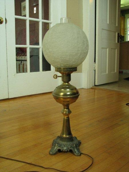 Antique Lamp Lighting Antique Miller Globe For Juno Lamp