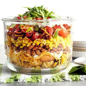 Mississippi Corn Bread Salad
