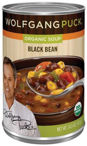 Wolfgang Puck Organic Black Bean Soup, 14.5 Ounce Cans ...