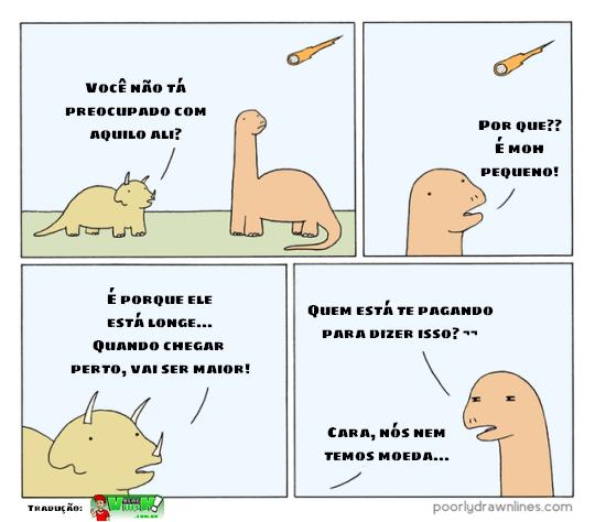 Blog Viiish - Dinossauro que não manja das perspectivas