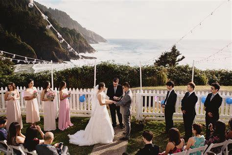 Heceta Head Lighthouse Florence Oregon Wedding