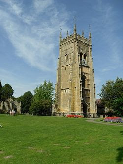 Evesham, the belltower. Photo by I. Lapa