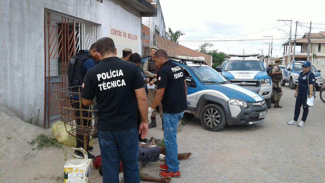 Homem é morto a tiros no bairro Conceição em Feira de Santana