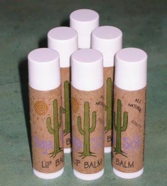 Lip Balm: Tubes of soothing lip moisturizer.