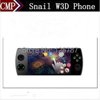 Quad Core Smartphones: Original Snail W3D 4G FDD LTE 3D Game Mobile
