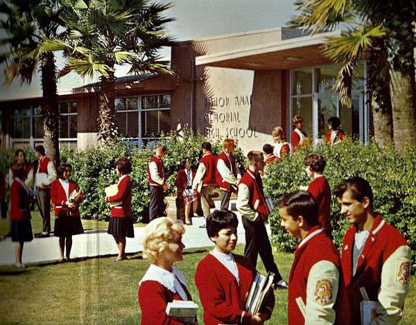 The color of the uniforms at my old high school...circa 1964.