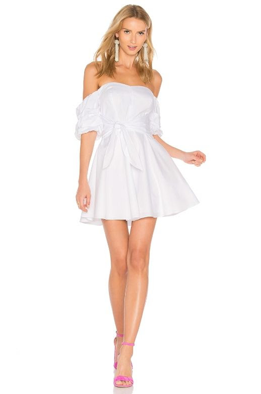 Le Fashion Blog All The Little White Dresses To Shop This Summer Amanda Uprichard Austin Dress Via Revolve