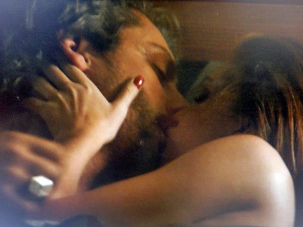 O casal se ama loucamente  (Foto: Gshow)
