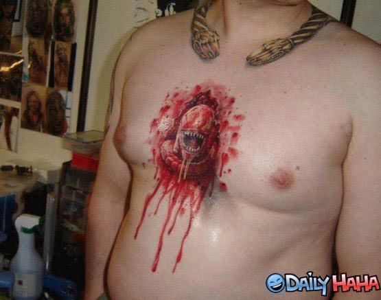 Moronic tattoo