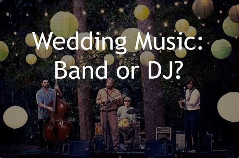 Should you have a DJ or Live Band For Your Wedding