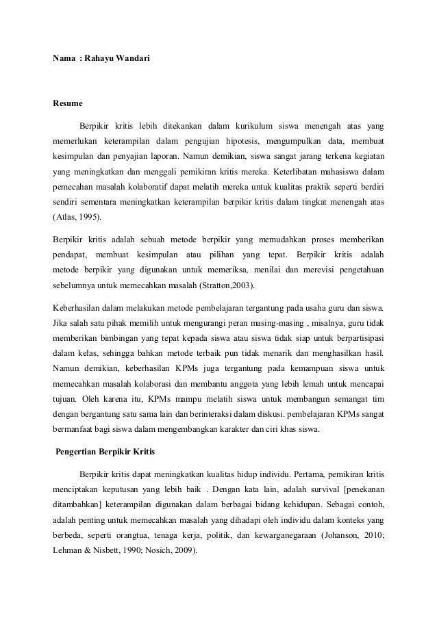 27 Contoh Paper Singkat Sederhana Penelitian Kuliah Cara Membuat