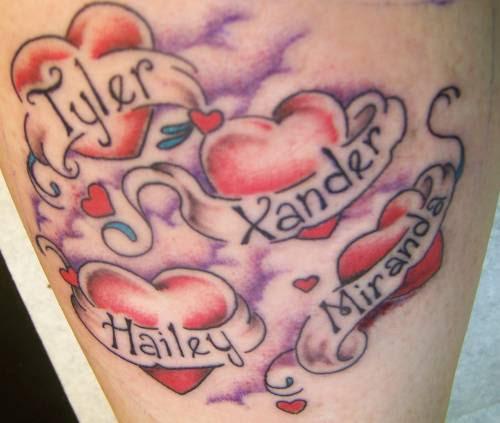 Name Banner Tattoo Designs Tattoo Love Name Tattoos