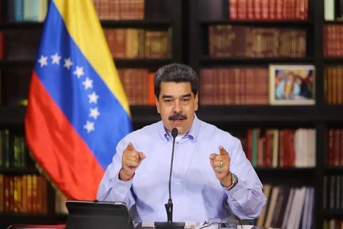 MADURO EXIGE A EEUU LIBERAR DINERO DE VENEZUELA PARA COMPRA DE VACUNAS