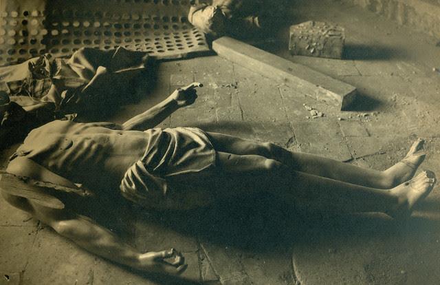 Cristo yacente del Convento de las Concepcionistas destruido en la Guerra Civil. Fotografía de Pelayo Mas Castañeda. Causa de los mártires de la persecución religiosa en Toledo
