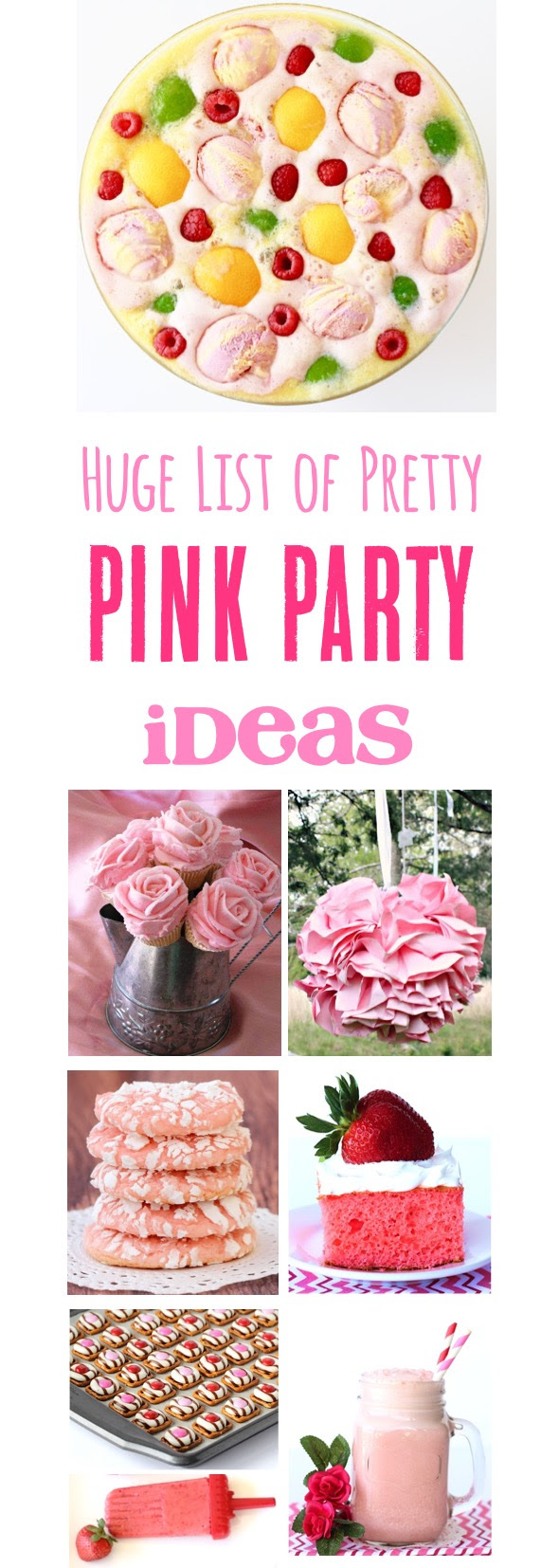 26 Pink Birthday Party Ideas The Frugal Girls