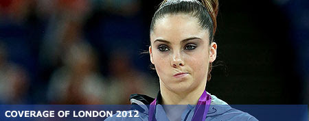 McKayla Maroney gets in on the 'McKayla is not impressed' meme (Ronald Martinez/Getty Images)