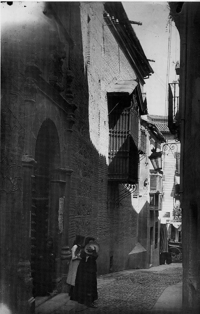 Iglesia de la Magdalena a principios del siglo XX. Foto Rodríguez