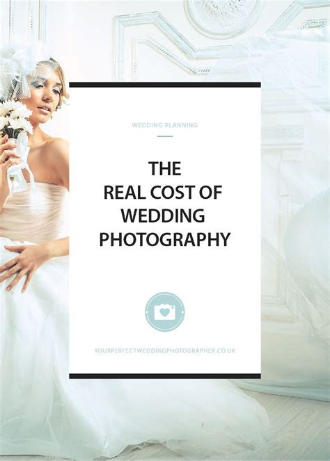 The Real Cost of Wedding Photography   You Only get One Chance
