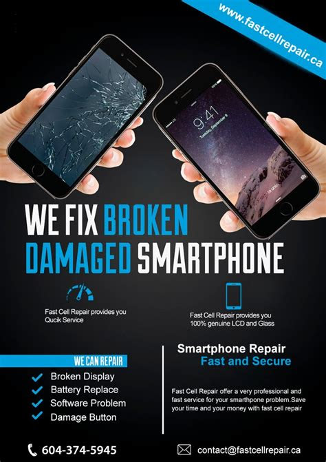 fix broken damage smartphone repair iphone repair