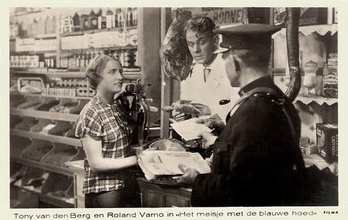 Tony van den Berg, Roland Varno, Het meisje met de blauwe hoed