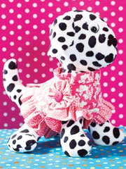 Toy Dog & Clothes Sewing Pattern