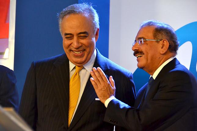 Félix García con el presidente Danilo Medina