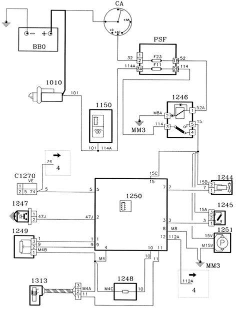 XUD11ATE/Y ENGINE - WIRING DIAGRAMS