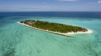Heron Island from the air