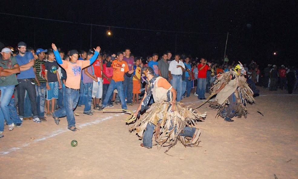 Festa dos Caretas é tradição em Lizarda (Foto: Thiago Sá/Governo do Tocantins)