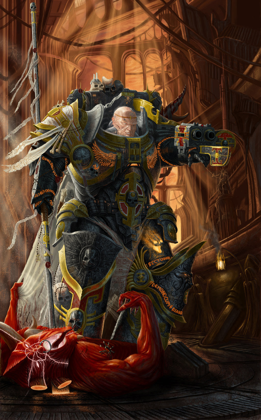 What Are Your Favorite Concept Art Pieces Of The Imperium? | Page 20 | Warhammer 40,000: Eternal ...