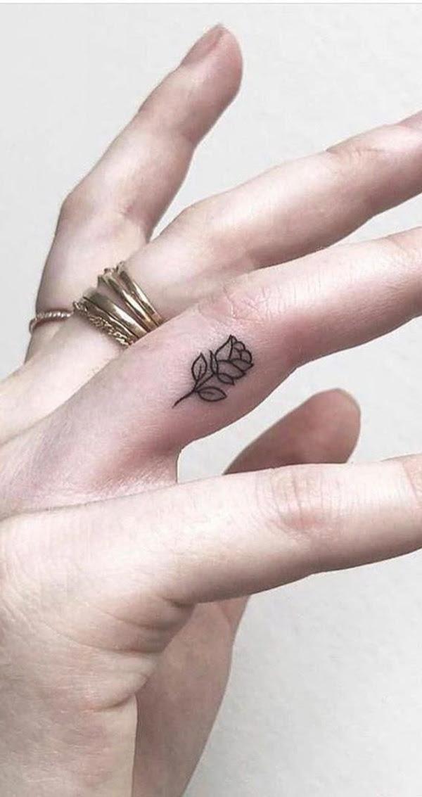 Hand Cute Tattoo Design