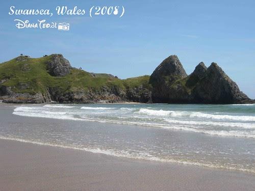 Three Cliff Bay, Swansea 01