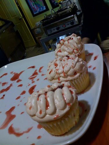 Brain cupcakes, Mummy cupcakes, The Sweet Escape Patisserie, Toronto