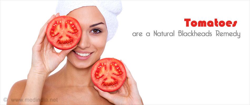 Tomato Wash for Blackheads