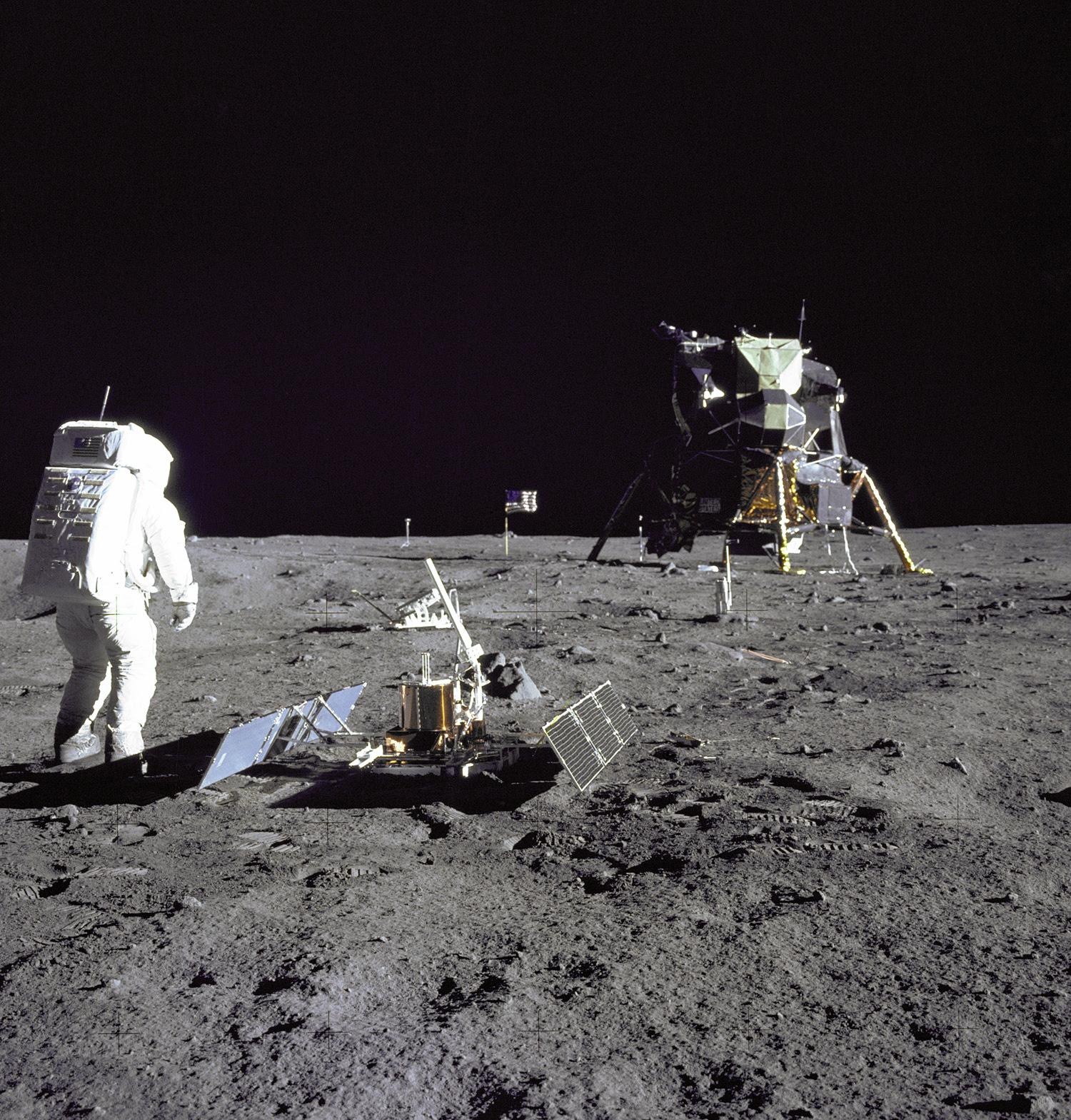 El hombre en la Luna 1969