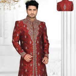 Indian Groom Wedding Dresses by Rajshri Fashions at