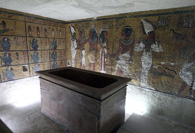 Una tumba española para Tutankamón