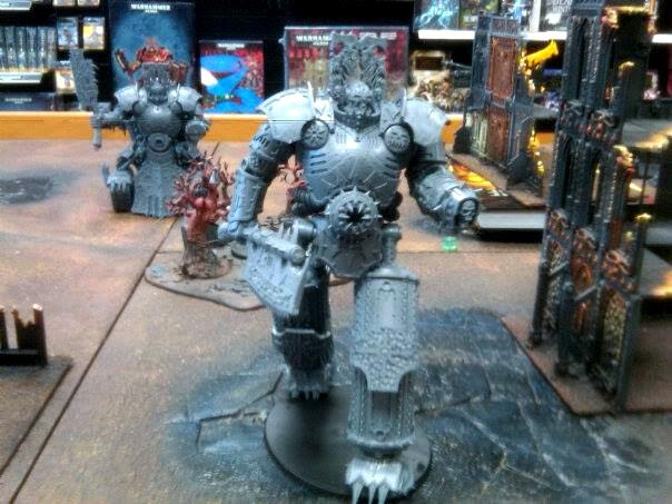 Chaos, Conversion, Khorne, Lord Of Skulls, Walker