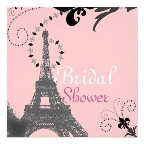 Romantic Paris Vintage Bridal Shower Invitation   Paris