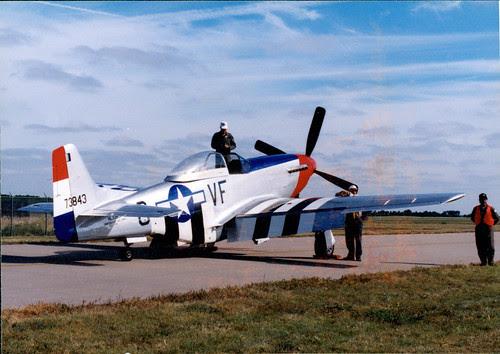 airshow P51