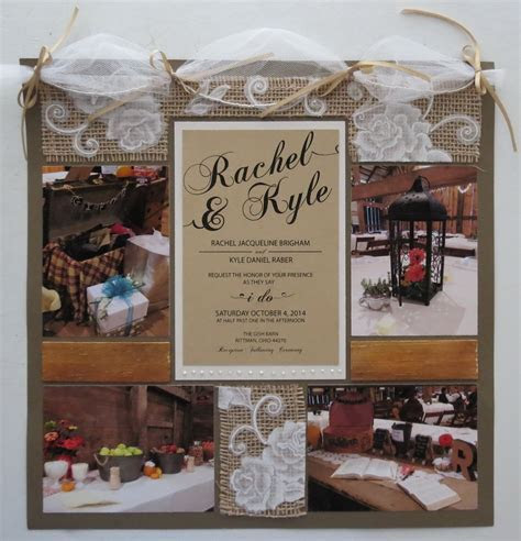 Wedding Scrapbook Tips   Mosaic Moments Photo Collage System
