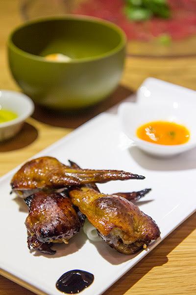 Wild Rocket Roast Chicken Rice Wings