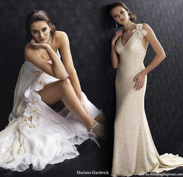 Demeeka's Blog: Garden Wedding Dresses There 39s This