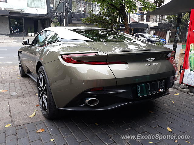 Aston Martin Db11 Spotted In Jakarta Indonesia On 09 09 2018