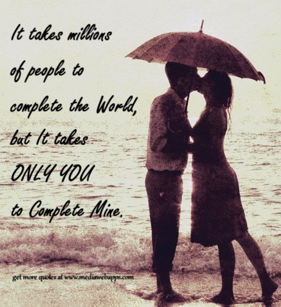 You Complete My World Pictures Photos And Images For Facebook