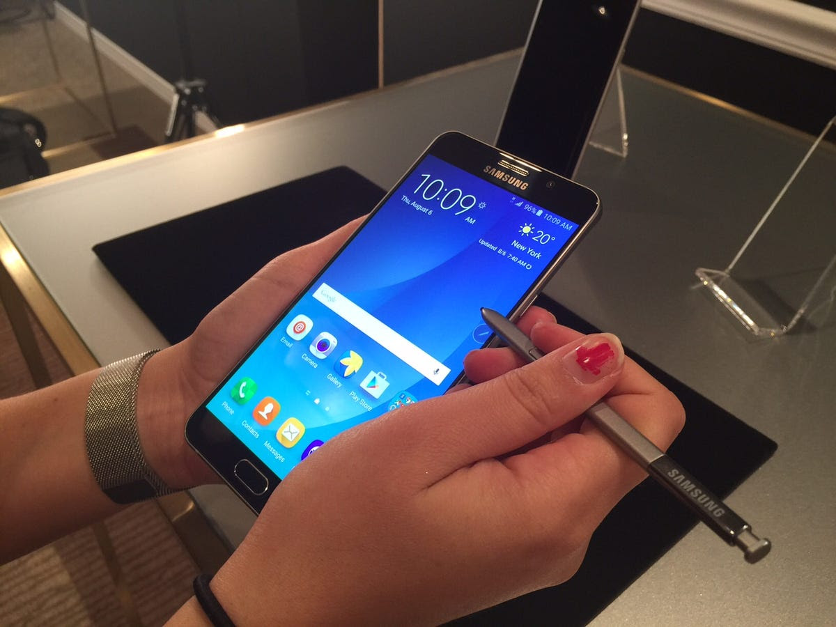 #4 Samsung Galaxy Note 5