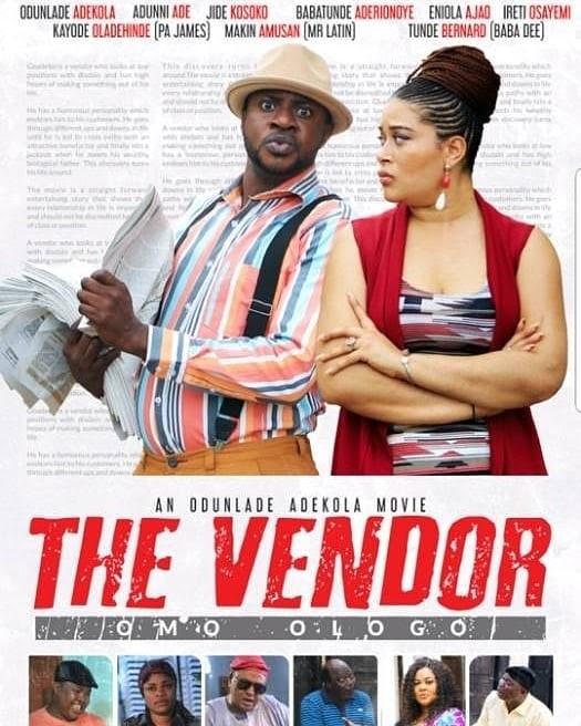 DOWNLOAD MOVIE: THE VENDOR(2018) FULL MOVIE