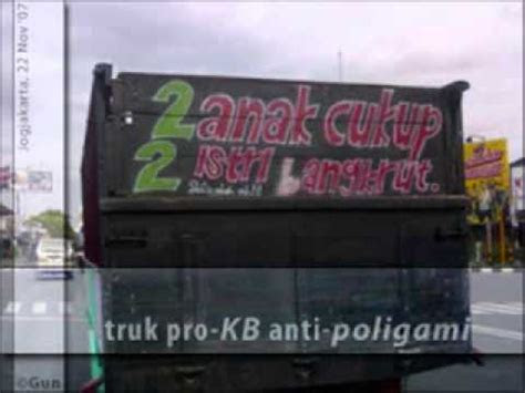 video gokil gambar tulisan lucu  bak truk bag youtube