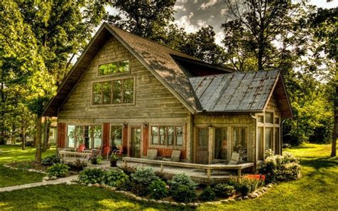 wooden  beautiful homes rustic house plans
